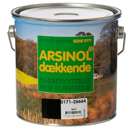 Image of   Arsinol Dækkende 2,5 Liter Sort