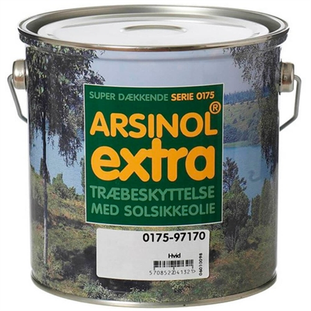 Image of   Arsinol Extra Dækkende 2,5 Liter Sort