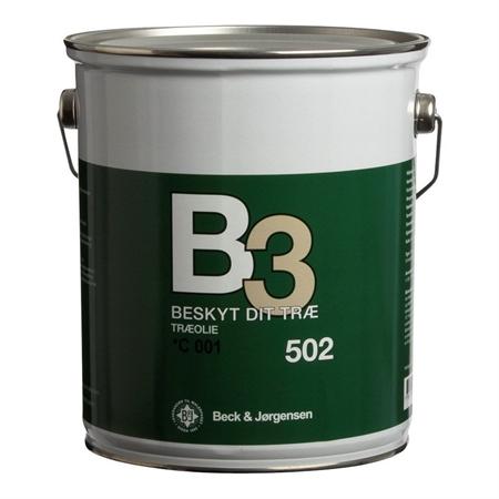 B3 502 Træolie
