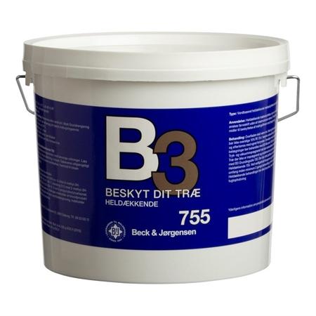 Image of   B3 Heldækkende Træbeskyttelse Vandig 2,7 Liter