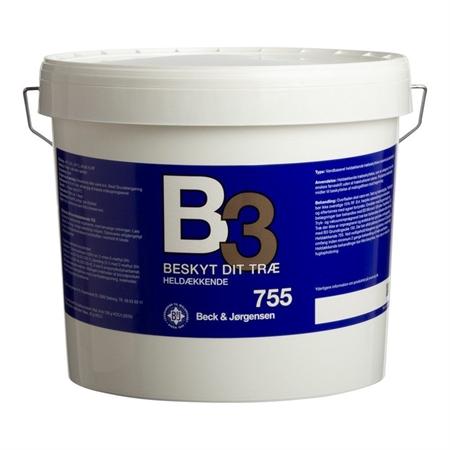 Image of   B3 Heldækkende Træbeskyttelse Vandig 4,5 Liter