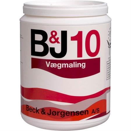 Image of   410 B&J 10 Vægmaling 0,9 Liter