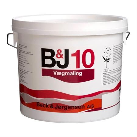 B&J 10 Vægmaling 2,7 Liter