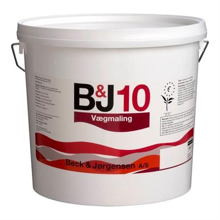 Image of   410 B&J 10 Vægmaling 4,5 Liter