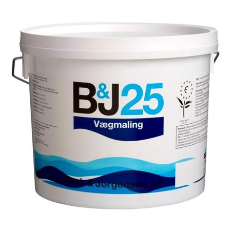 Image of   425 B&J 25 Vægmaling 2,7 Liter