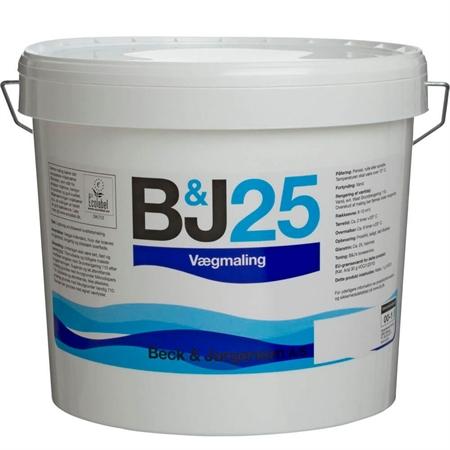 Image of   425 B&J 25 Vægmaling 4,5 Liter