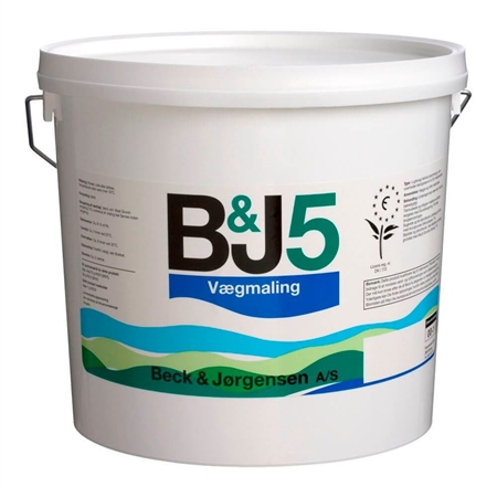 Image of   B&J 5 Vægmaling 4,5 Liter
