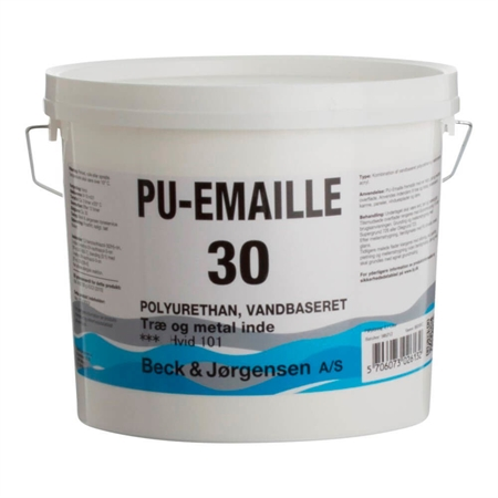 B&J PU-Emaille Glans 30 Vand