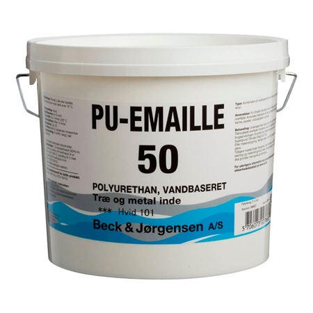 B&J PU-Emaille Glans 50 Vand