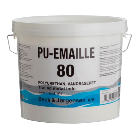 B&J PU-Emaille 80 Træmaling