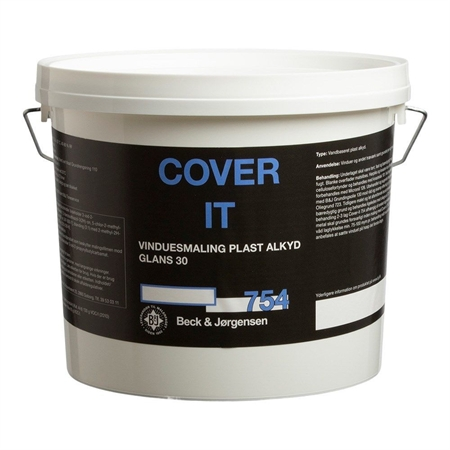B&J 754 Cover IT Vinduesmaling 3 Liter thumbnail