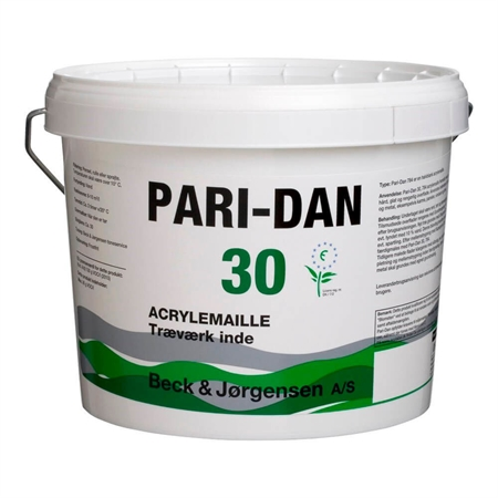 Image of   9 Liter B&J Pari-Dan Acrylemalje Glans 30