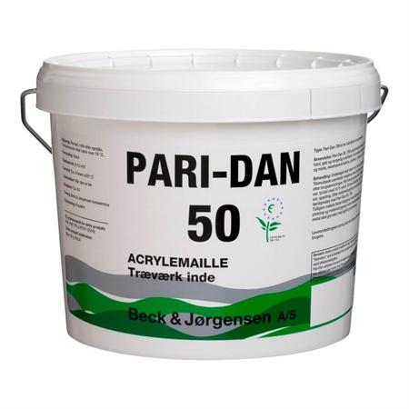 Image of   9 Liter B&J Pari-Dan Acrylemalje Glans 50
