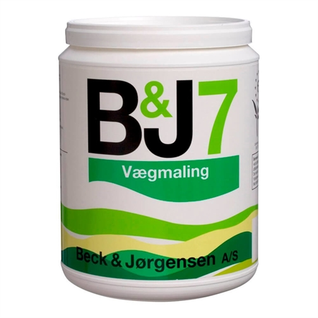 Image of   407 B&J 7 Vægmaling 0,9 Liter