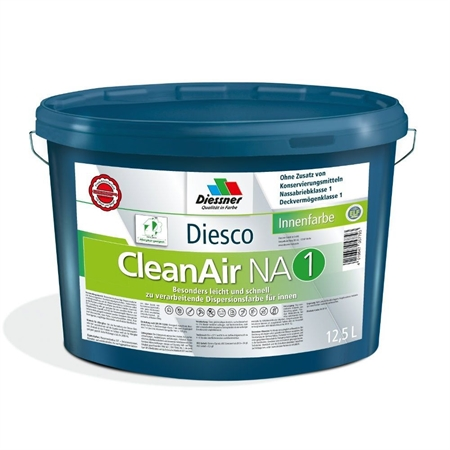 Image of   Diesco Clean Air 1 Allergivenlig Vægmaling