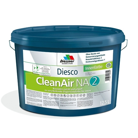 Image of   Diesco Clean Air 2 Allergivenlig Vægmaling 12,5 Liter