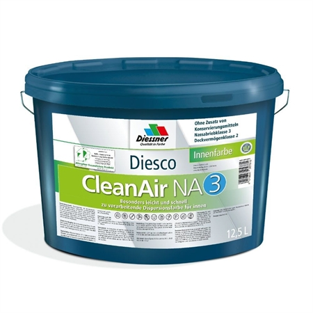 Diesco Clean Air 3 Allergivenlig Vægmaling 5 Liter