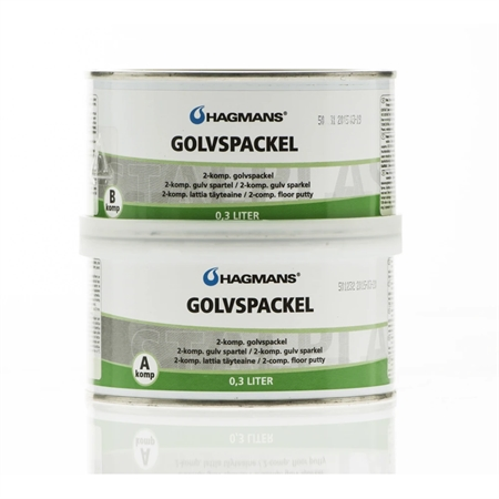 Hagmans Epoxy Gulvspartel 0,6 Liter