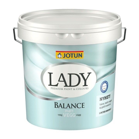 Image of   Jotun LADY Balance Vægmaling 2,7 Liter
