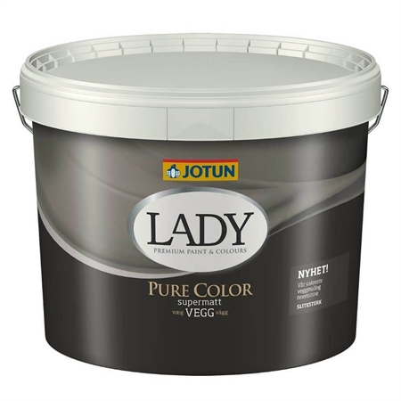 Jotun LADY Pure Color Vægmaling 9 Liter