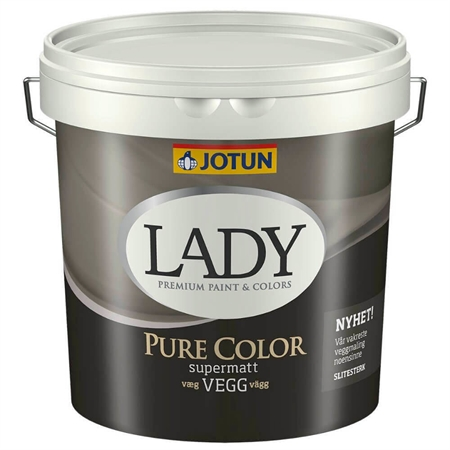 REST: LADY Pure Color Vægmaling 2,7 Liter