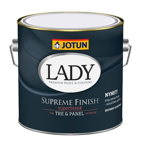 Image of   Jotun LADY Supreme Finish 80 - 2,7 Liter