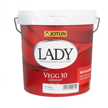Image of   Jotun LADY Vægmaling 10 - 2,7 Liter