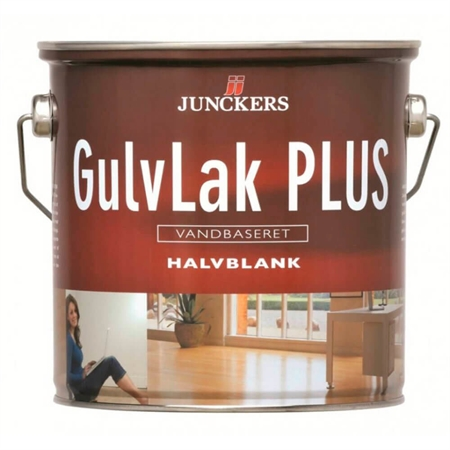 Image of   Junckers Gulvlak Plus Halvblank