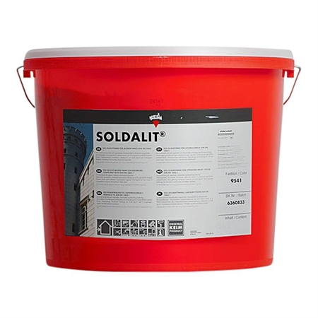 Keim Soldalit Silikatmaling 18 kg - Farve 9038 thumbnail