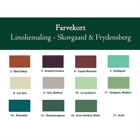 Skovgaard & Frydensberg Farvekort
