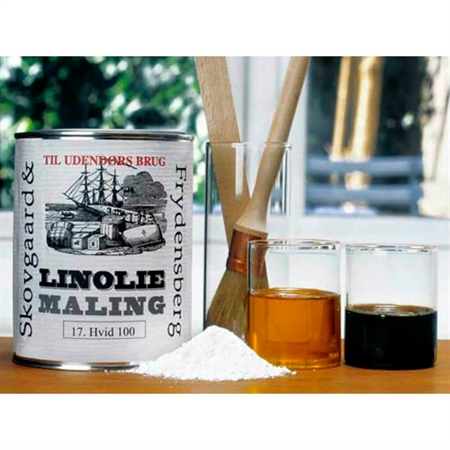 Image of   Linoliemaling Indendørs 1 Liter Sort