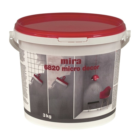 Image of   Mira 6820 Micro Decor Microcement 3 kg - Aubergine