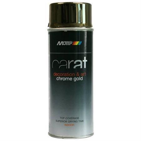 Motip Carat Spraymaling Krom Guld 400 ml thumbnail