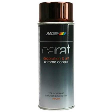 Image of   Motip Carat Spraymaling Krom Kobber 400 ml