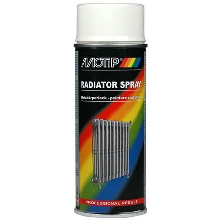 Image of   Motip Radiator Spraymaling Hvid 400 ml