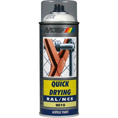Motip Spraymaling High Gloss 400 ml - Ral 7037 Dust Grey thumbnail