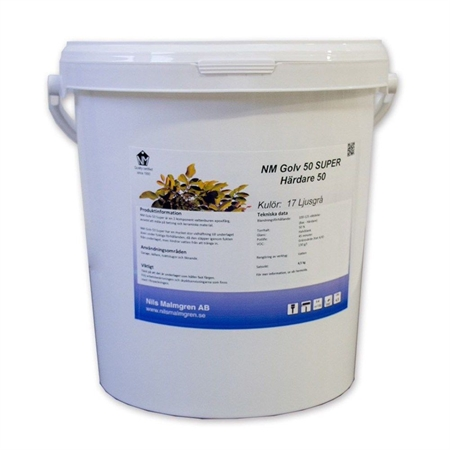 Image of   NM 50 Aqua Super Epoxymaling 9,0 kg Grå